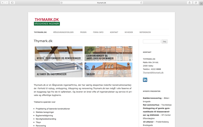 Wordpress Website Til Rådgivende Ingeniør