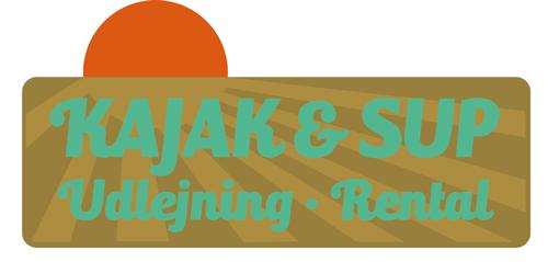 Logodesign til kajak og SUP-udlejning