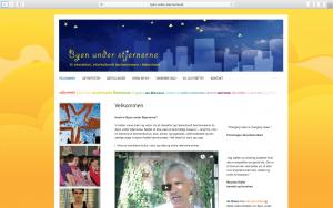 wordpress website byen under stjernerne